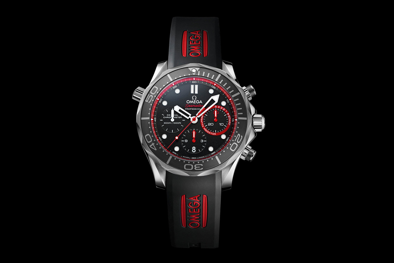 Omega Seamaster Diver Team ETNZ Limited Edition Watch