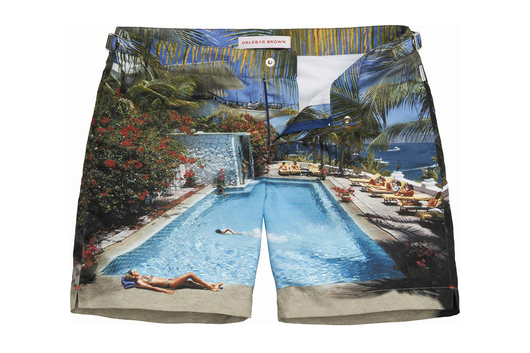 Orlebar Brown Bulldog Malin Edition Swim Shorts