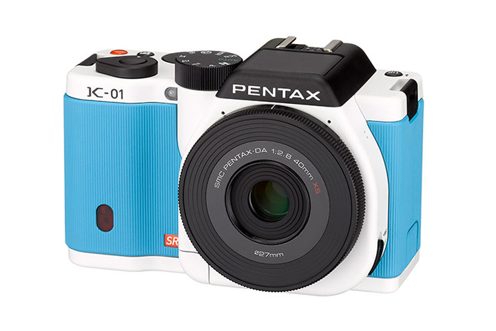 Pentax Revives the K-01 by Marc Newson