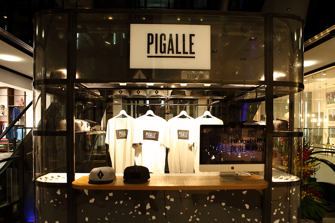 PIGALLE Pop-Up Store at GYRE Omotesando Tokyo Opening