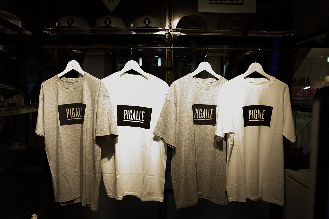 pigalle pop up store at gyre omotesando tokyo opening