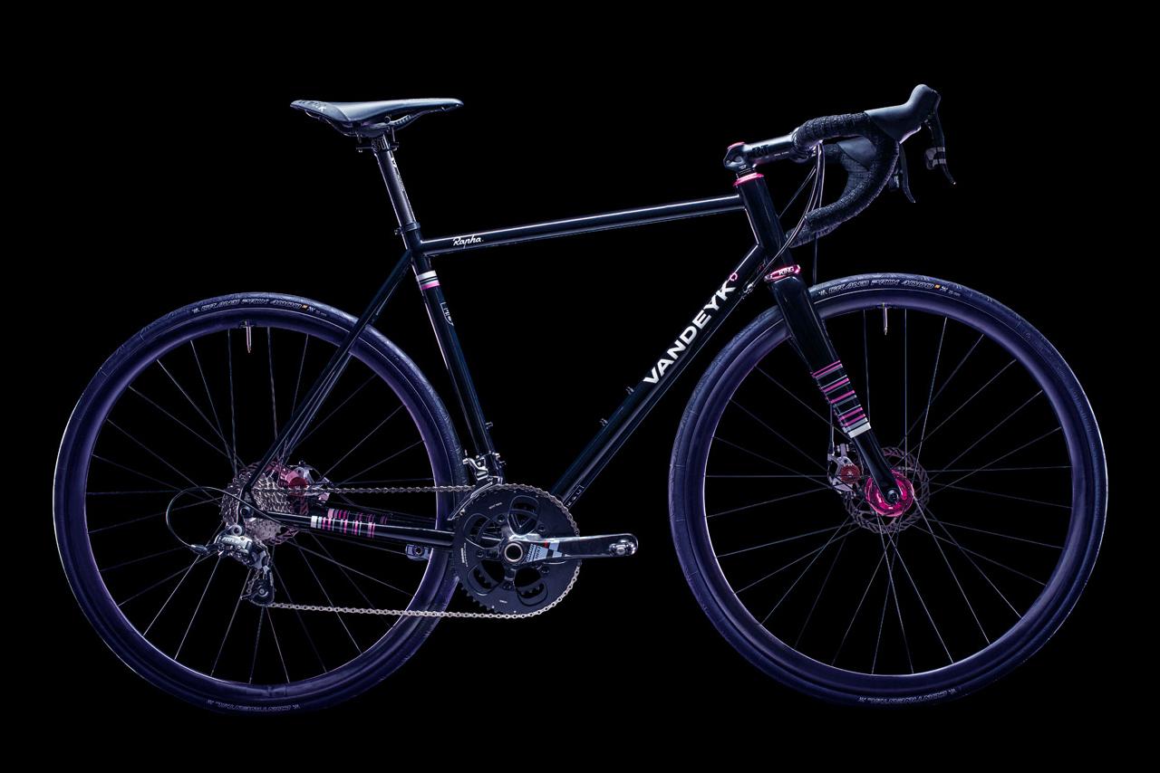 Rapha Continental x Vandeyk Handbuilt Bike