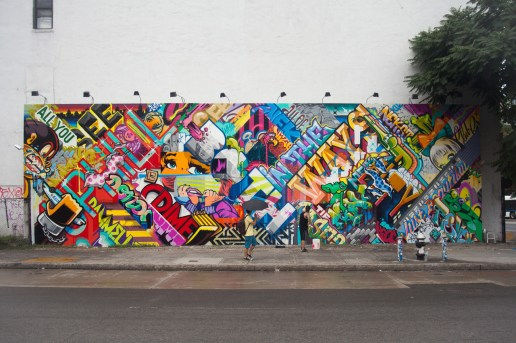 REVOK and POSE Bowery Wall Mural Complete