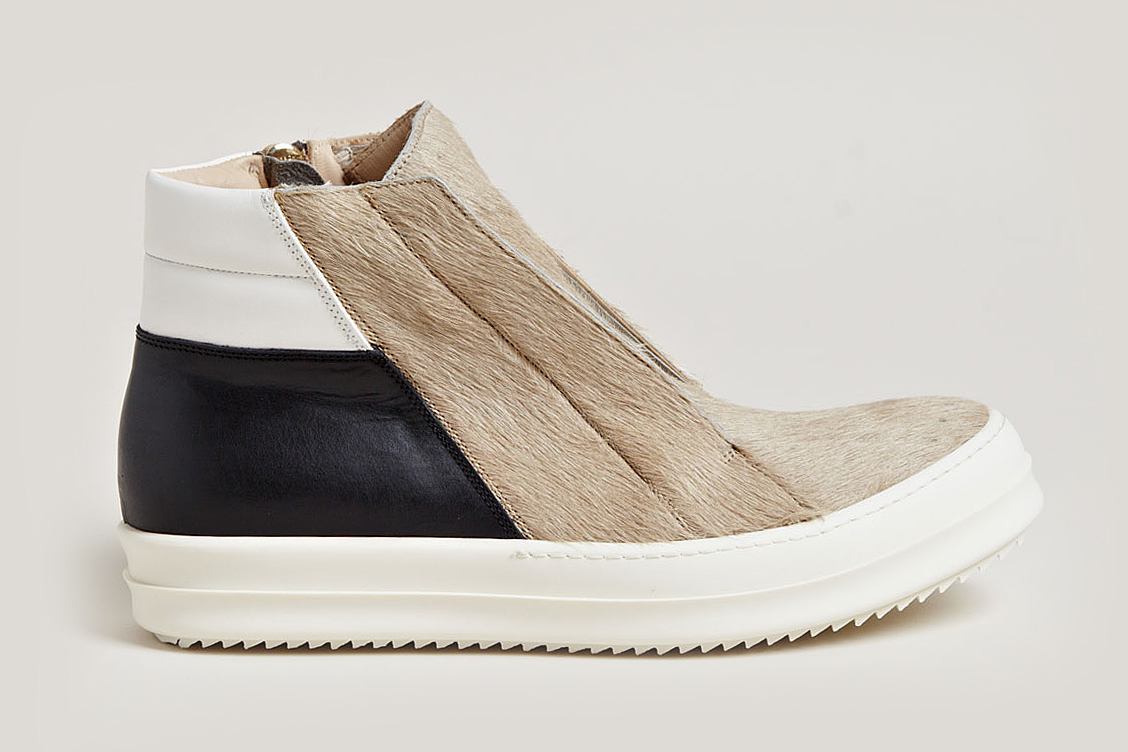 "Rick Owens ""Pony Hair"" Footwear Collection"