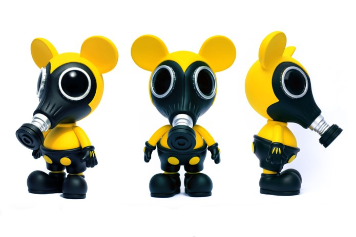 Ron English x Made by Monsters Biohazard Mousemask Murphy