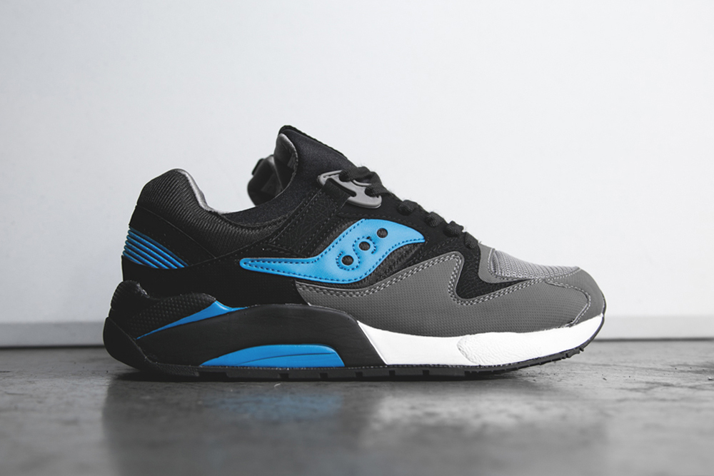 Saucony Grid 9000 Black/Royal Blue