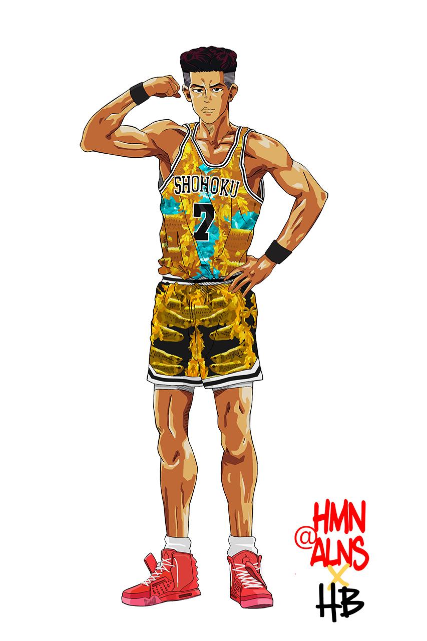 Slam Dunk x HMN ALNS