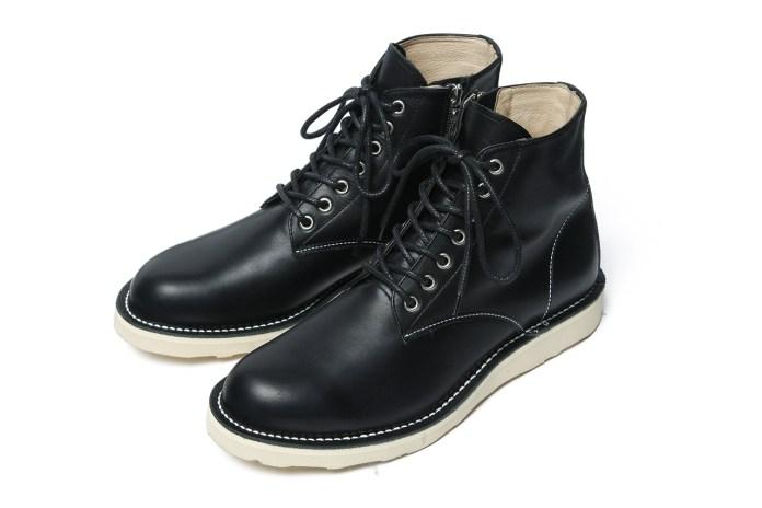 SOPHNET. 2013 Fall/Winter 7-Hole Zip Up Work Boots