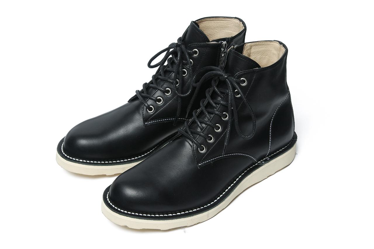SOPHNET. 2013 Fall/Winter 7-Hole Zip Up Work Boots | HYPEBEAST