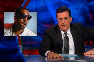 Stephen Colbert on the A.P.C. KANYE Collaboration