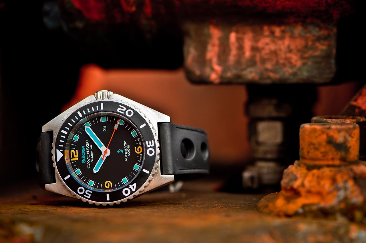 Subcrew x Cavenago Gladiator Watch