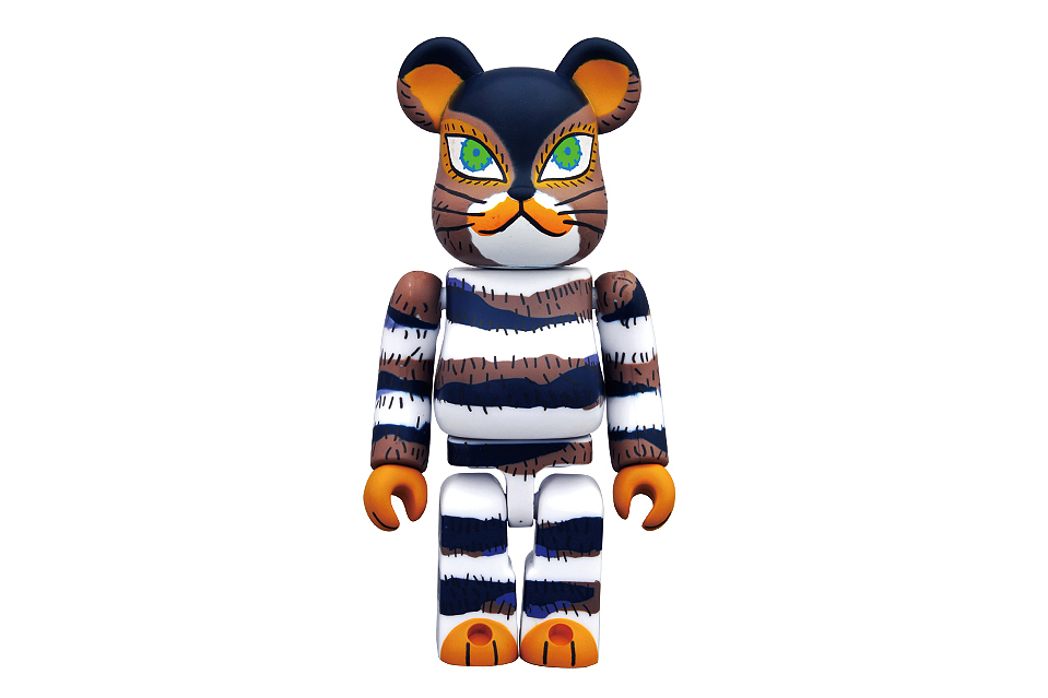 the cat that lived a million times x medicom toy 100 bearbrick