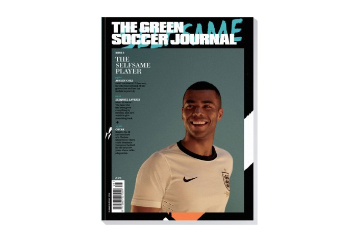 The Green Soccer Journal Issue 5 featuring Ashley Cole