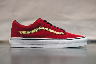 "Agenda LBC: Vans 2014 Spring/Summer Old Skool ""Snake Red/Gold"""
