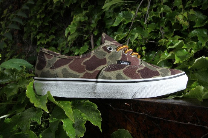 "Vans Authentic Waxed Canvas ""Camouflage"""