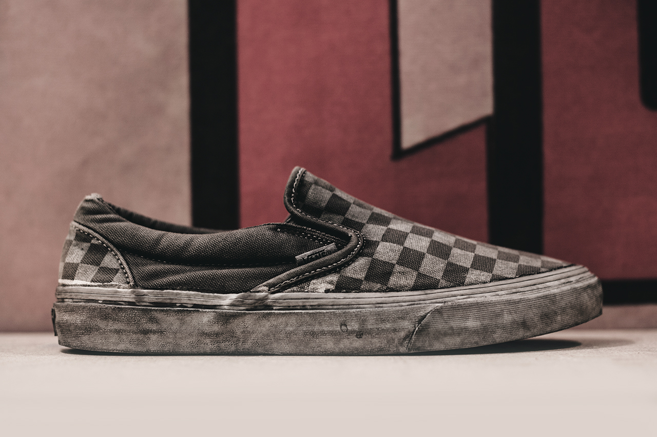 agenda lbc vans california 2014 spring summer overwashed slip on