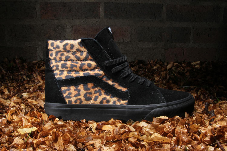 sk8 hi vans leopard