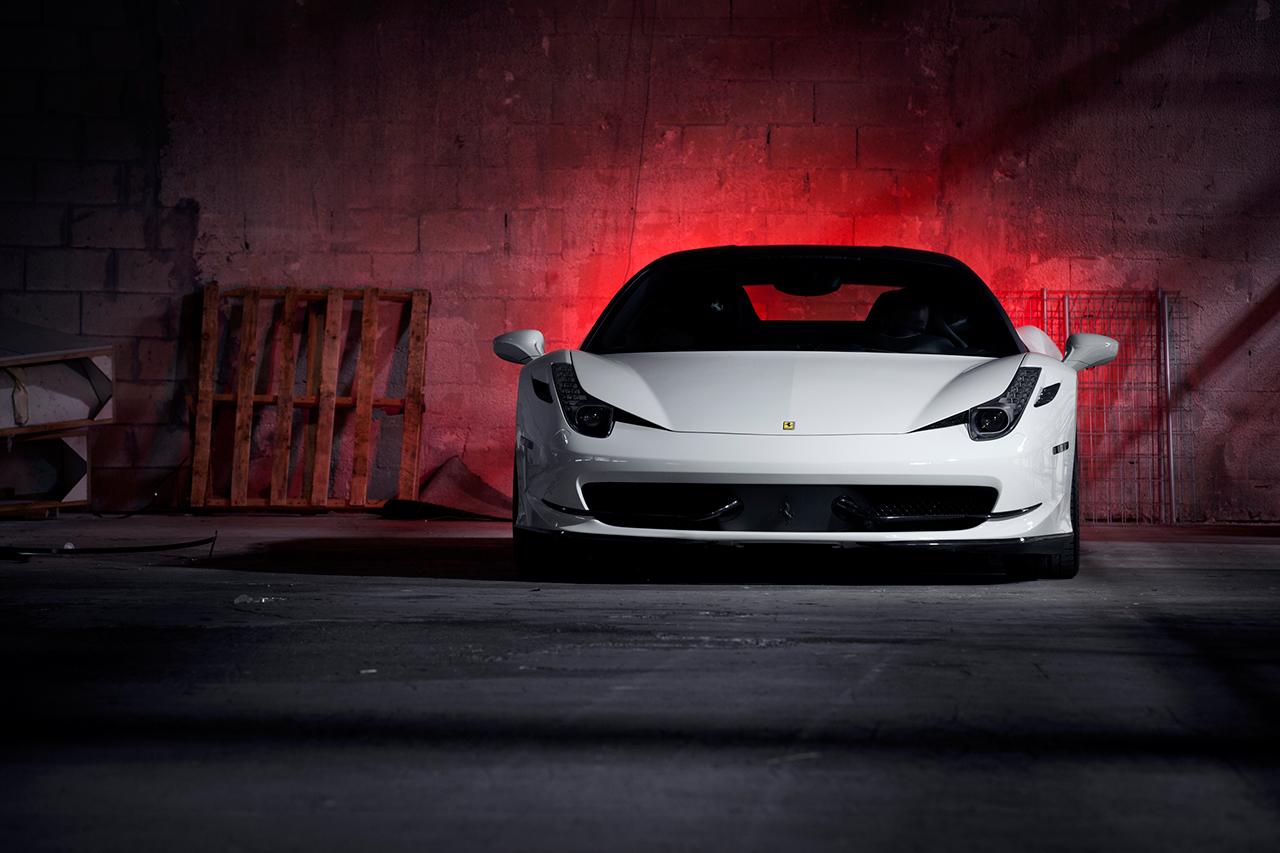 "Vossen Introduces its Breathtaking Ferrari 458 Italia on 21"" Precision Series Concave Wheels"