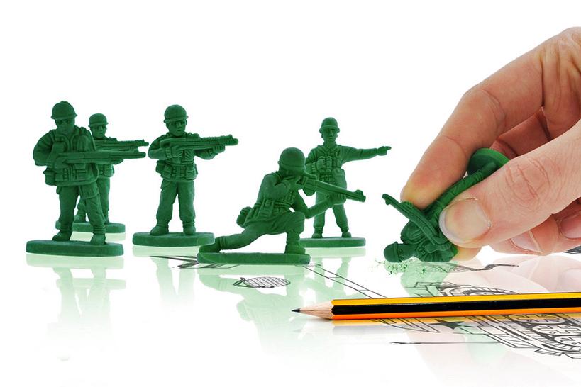war on error army men erasers