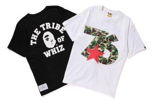 "WHIZ LIMITED x A Bathing Ape 2013 ""76"" TEE"
