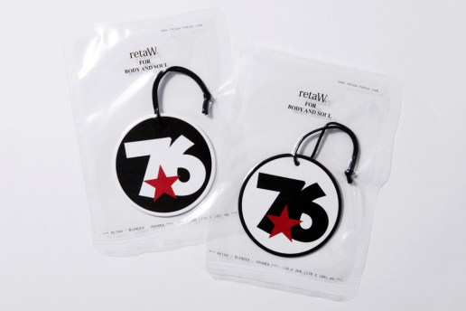 WHIZ LIMITED x retaW TRIBE* Fragrance Car Tag