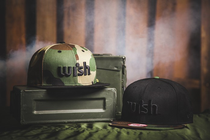 "Wish 2013 Spring/Summer ""Woodland Camo"" Snapback Pack"