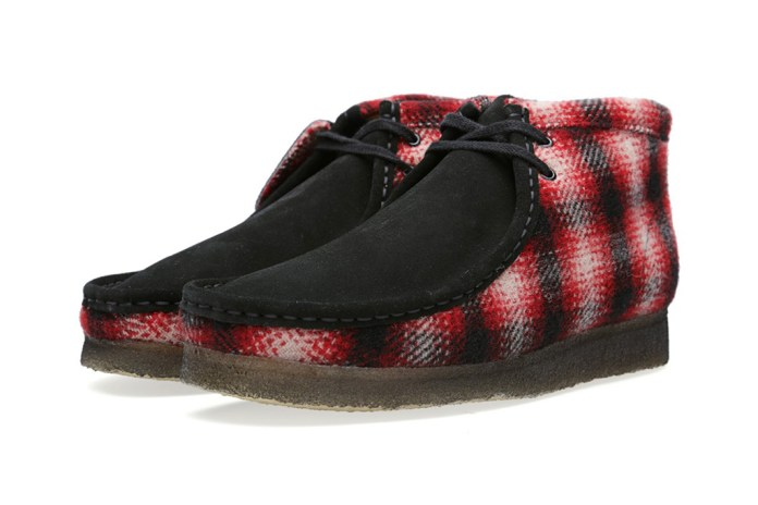 Woolrich Woolen Mills x Clarks Originals Wallabee Boot