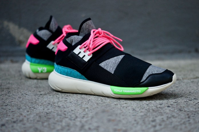 Y-3 Qasa High Black/Neon