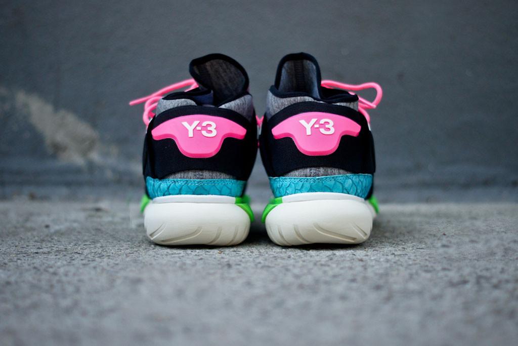 Y-3 Qasa High Black/Neon