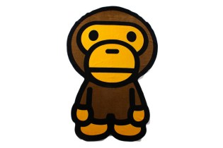 A Bathing Ape MILO BIG BATH TOWEL