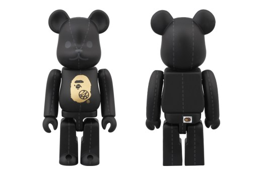 A Bathing Ape x 24karats x Medicom Toy 100% Bearbrick
