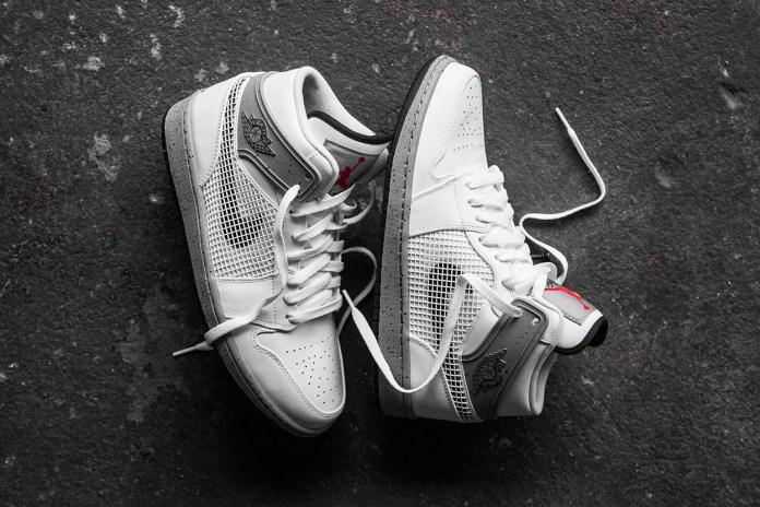 A Closer Look at the Air Jordan 1 Retro '89 White/Cement Grey-Black