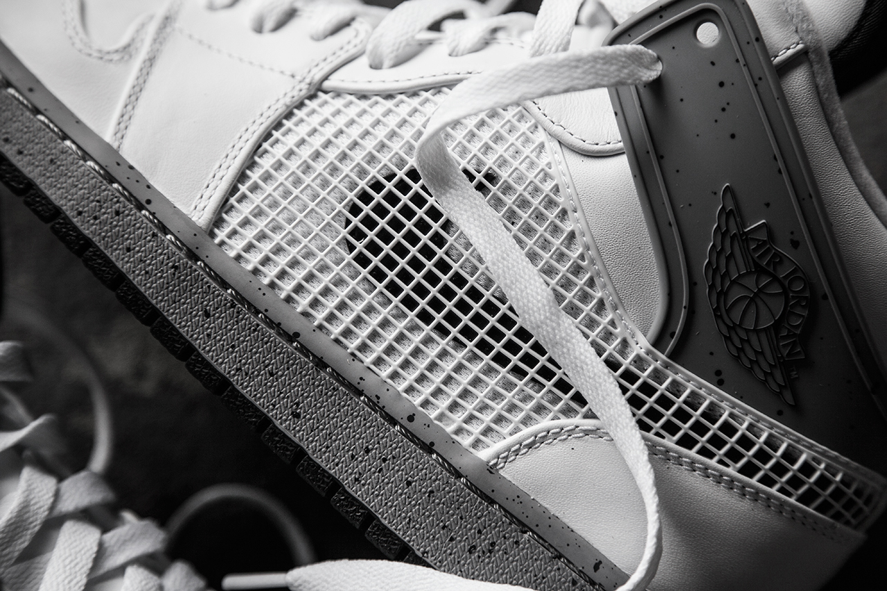 A Closer Look at the Air Jordan 1 Retro '89 White/Cement Grey-Black