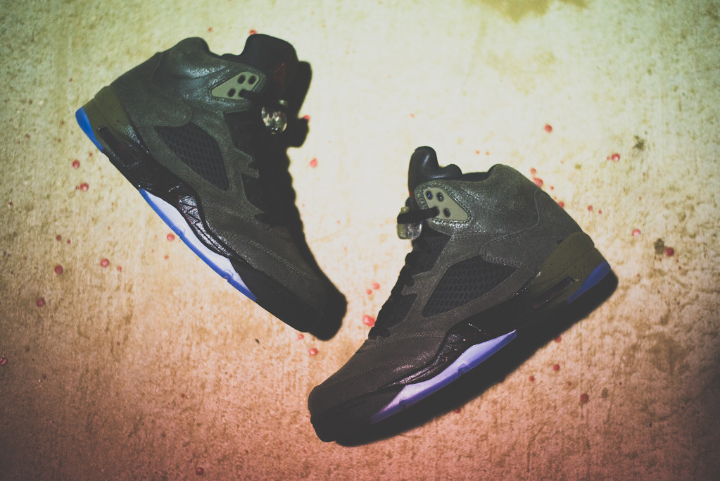 "A Closer Look at the Air Jordan 5 Retro ""Fear"""