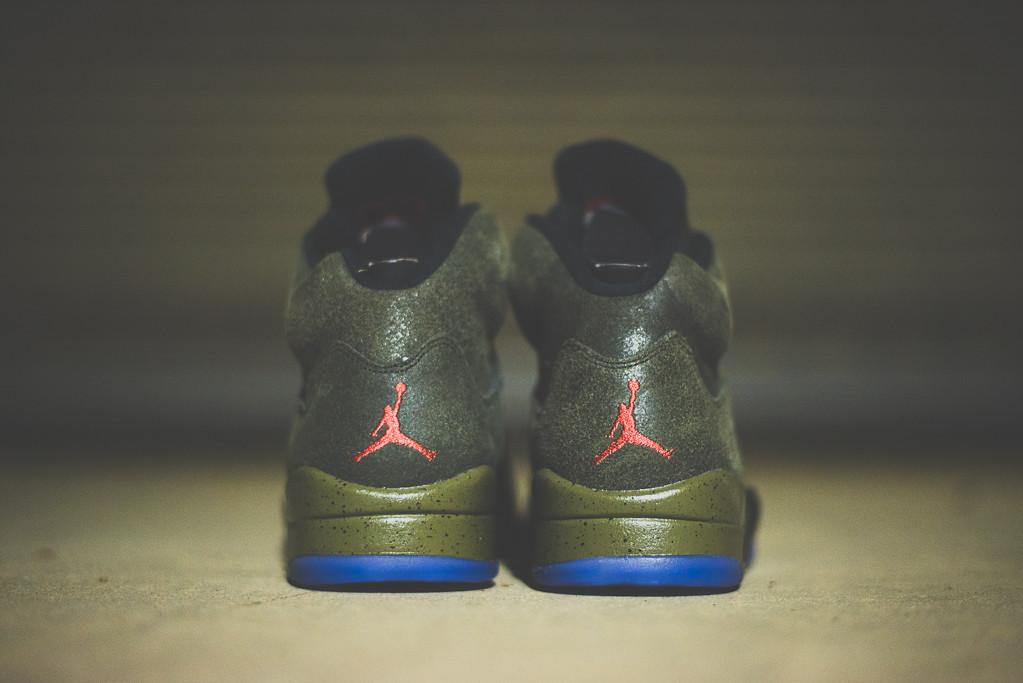 "A Closer Look at the Air Jordan 5 Retro ""Fear"""