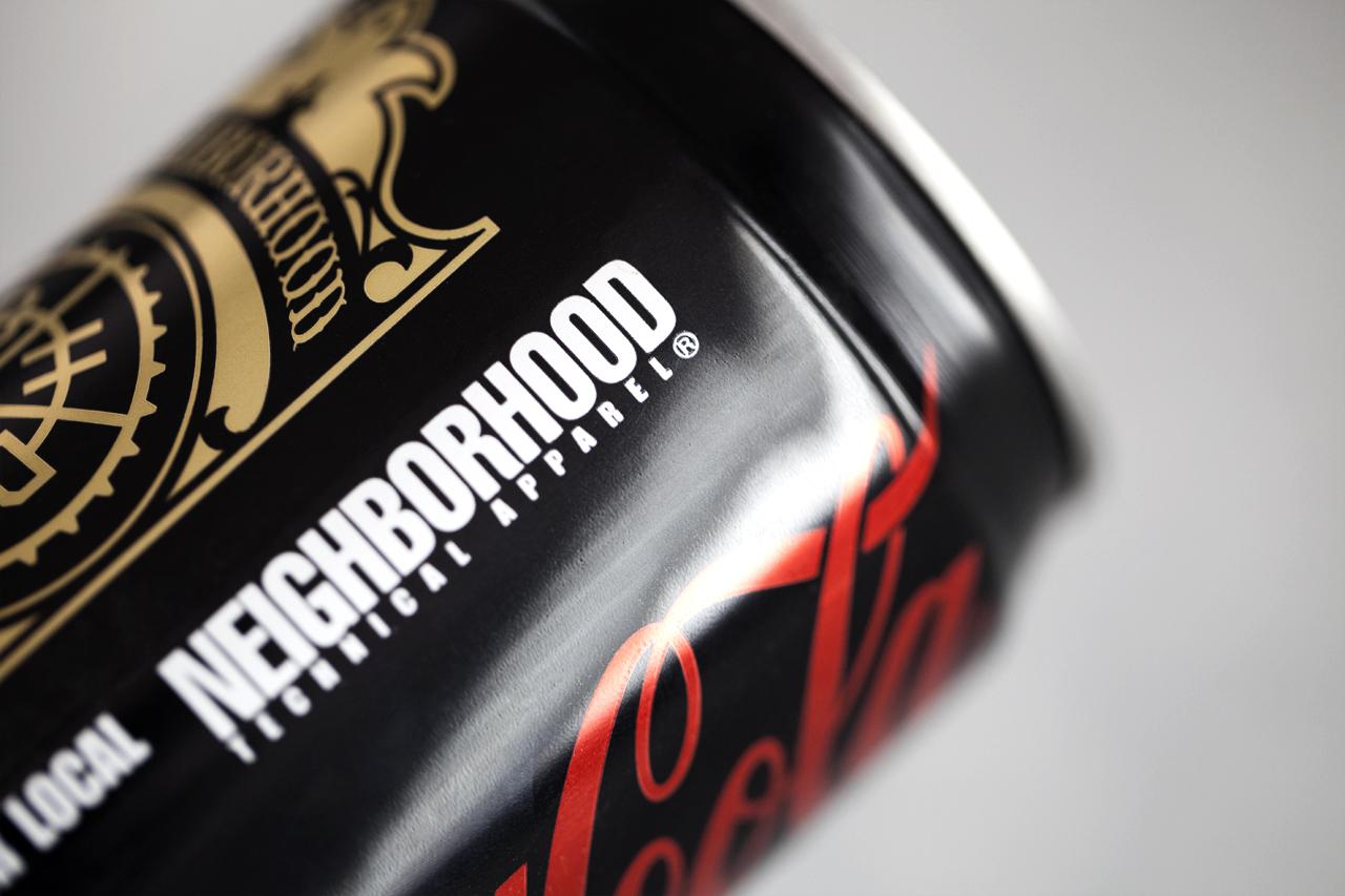 A Closer Look at the NEIGHBORHOOD x Coca-Cola Zero Cans