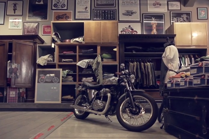 A Glimpse at the Deus Ex Machina Store & Cafe Milan