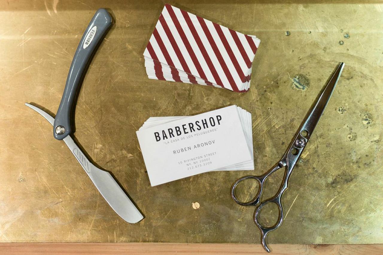 "A Look Inside Freemans Sporting Club's New ""Barbershop"""