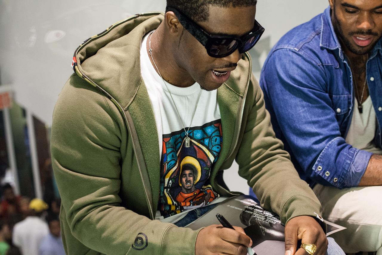 "A$AP Ferg x A Bathing Ape ""TrapLord"" T-Shirt Launch Recap"