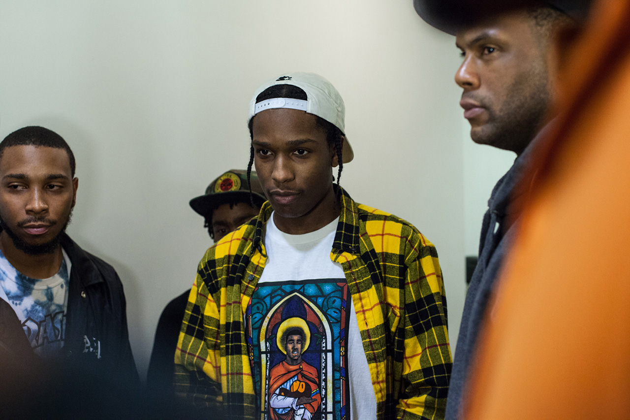 aap ferg x a bathing ape traplord t shirt launch recap