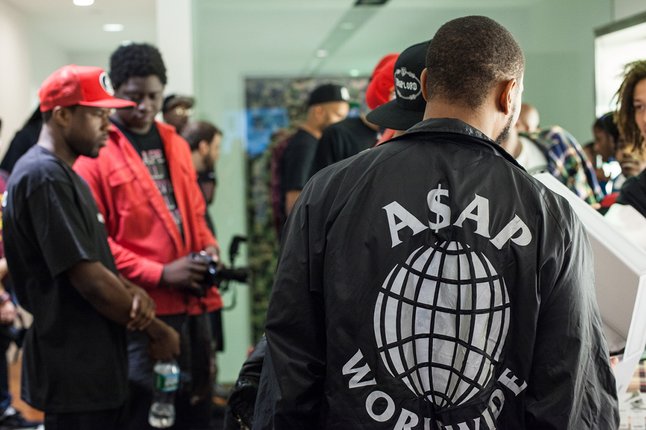 "A$AP Ferg x A Bathing Ape ""TrapLord"" T-Shirt Launch Recap"