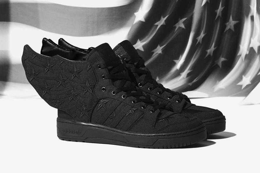 aap rocky x adidas originals by jeremy scott js wings 2 0 black flag