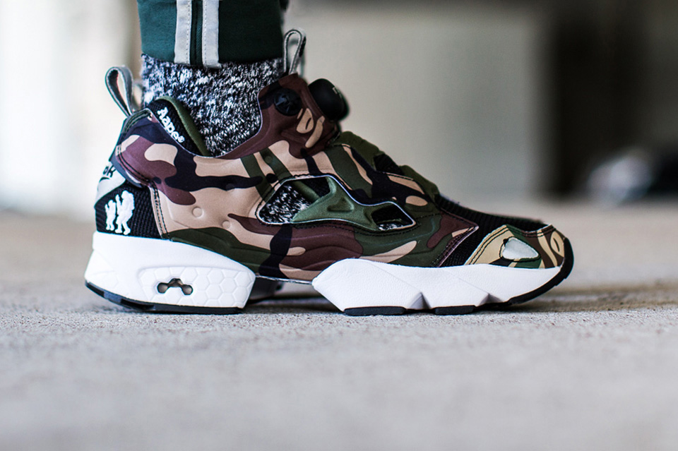 "AAPE by A Bathing Ape x Reebok Pump Fury ""Camo"""