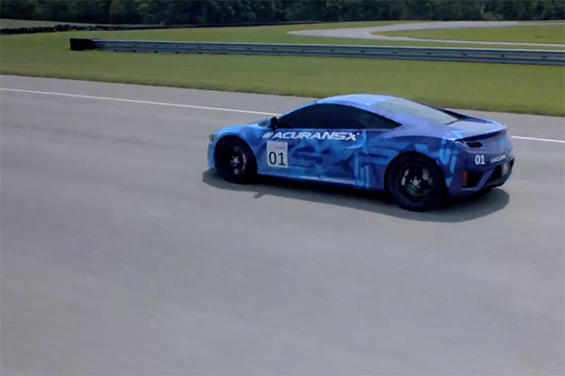 Acura NSX Prototype Debuts in Mid-Ohio