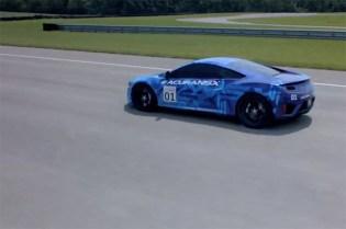 Acura NSX Prototype Debuts in Mid-Ohio