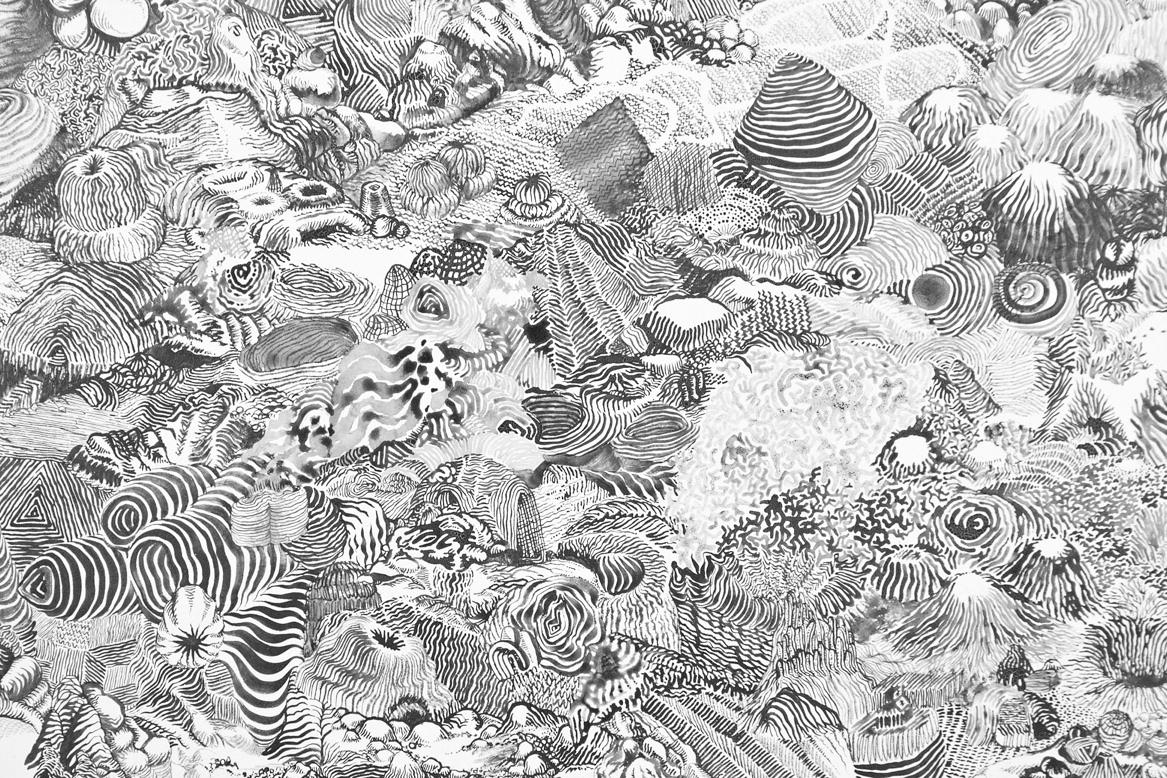 "Alvaro Ilizarbe ""Surveying"" Exhibition @ Martha Otero Gallery"