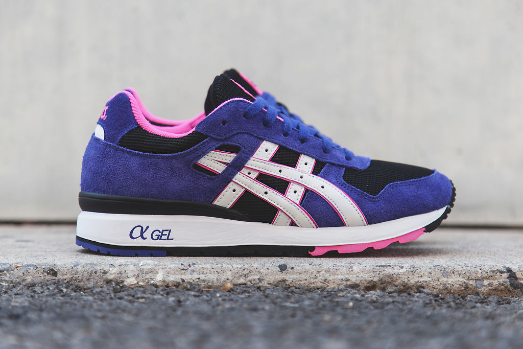 asics gt ii purple black