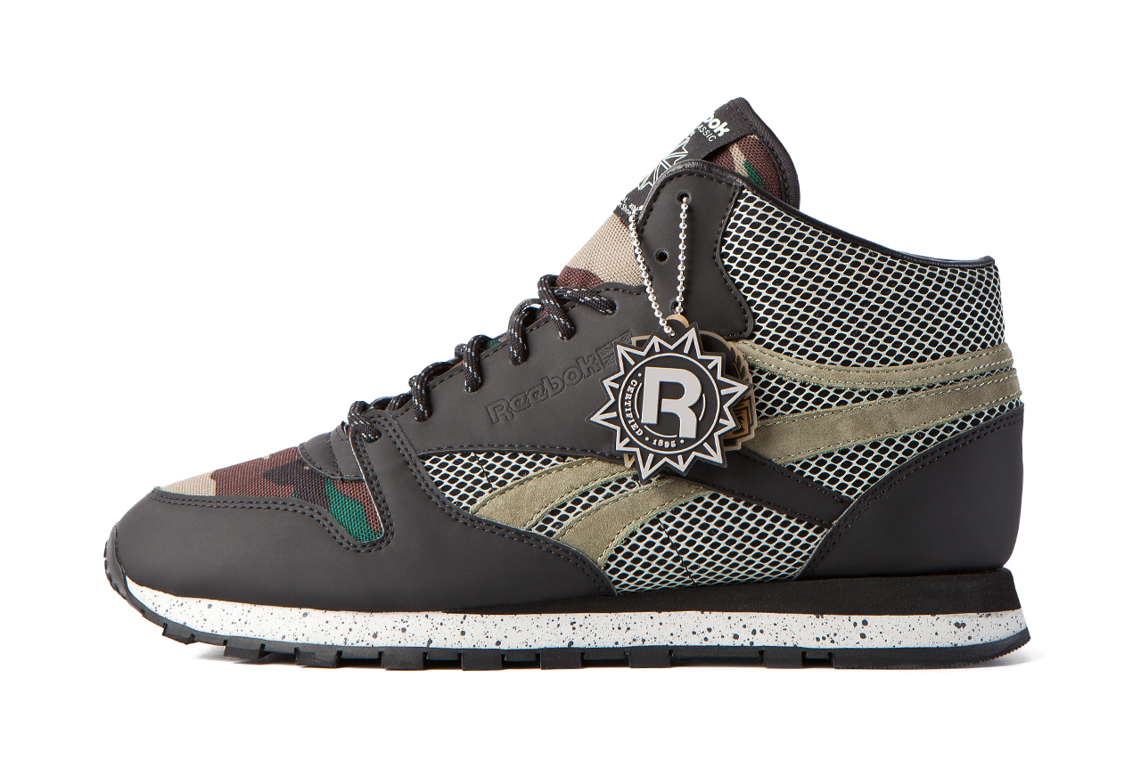 atmos x Reebok Classic Leather Mid 30th Anniversary