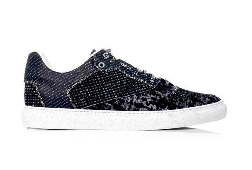 Balenciaga 2013 Fall/Winter Tweed and Leather Sneakers