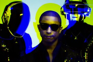 Behind the Scenes of Pharrell and Daft Punk's VIBE Magazine Cover